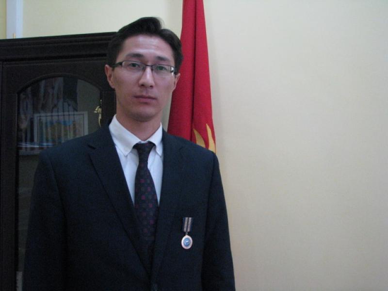 Заместитель председателя Дастан Догоев награжден медалью «Шериктеш»