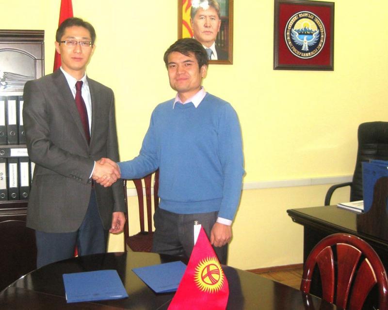 ГРС и Кыргызская Ассоциация разработчиков программного обеспечения и услуг подписали соглашение о взаимосотрудничестве