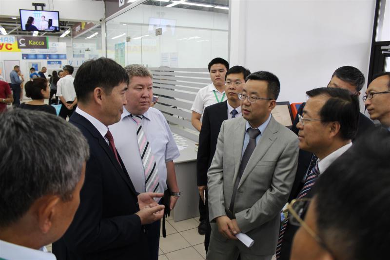 Кытай Эл Республикасынын Юстиция министрлигинин делегациясы КТБда конокто