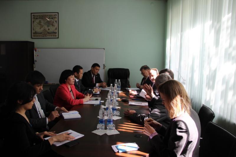 Председатель ГРС Алина Шаикова встретилась с представителями стран Европейского союза