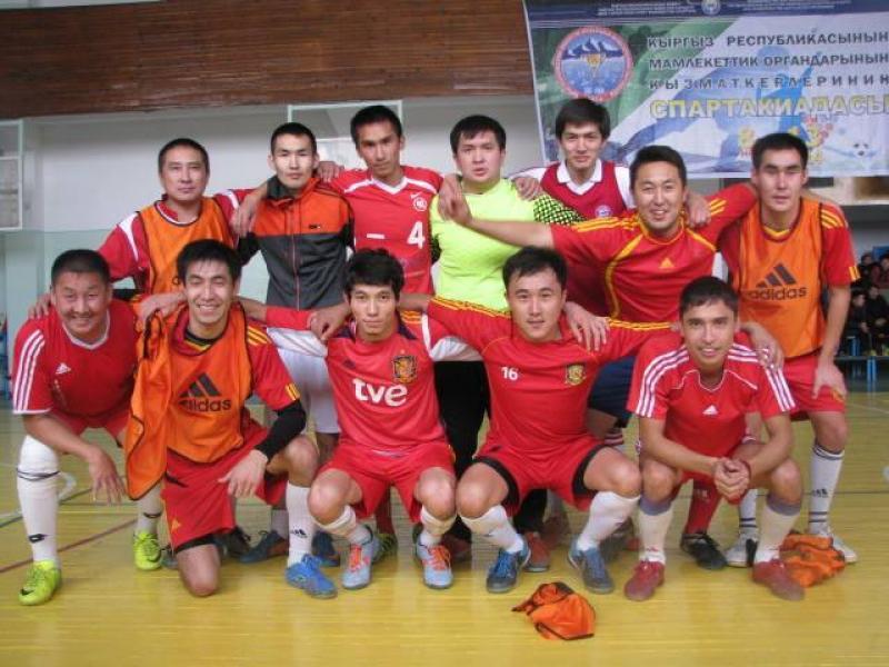 Футбольная команда ГРС стала чемпионом в спартакиаде среди госслужащих 2014 г.