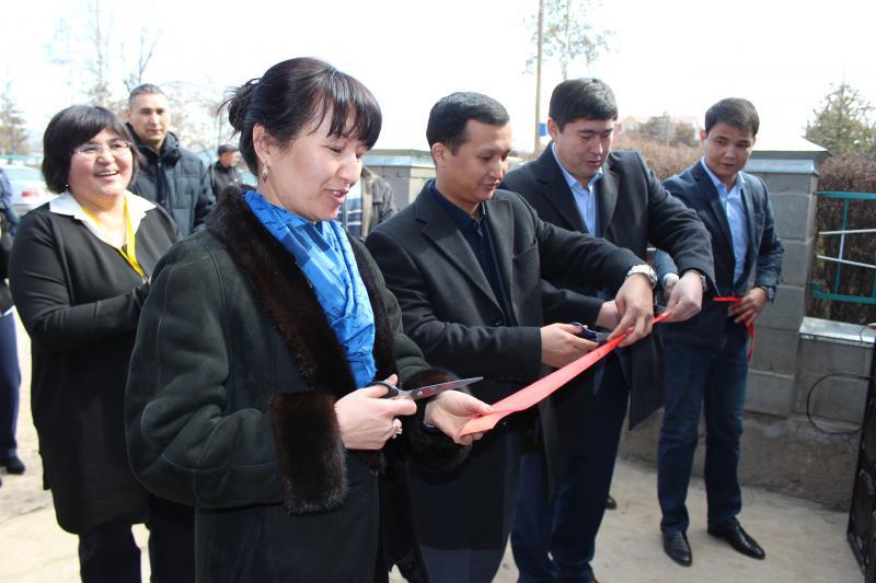 В Джеты-Огузском районе открылся ЦОН нового формата