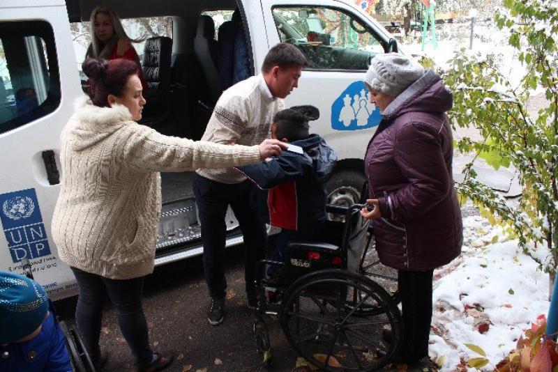 ГП «Инфоком» оказало благотворительную поддержку лицам с ограниченными возможностями здоровья