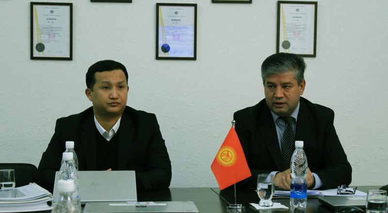Вице-премьер-министри Равшанбек Сабиров борбор калаанын КТБ жана АвтоКТБда болду