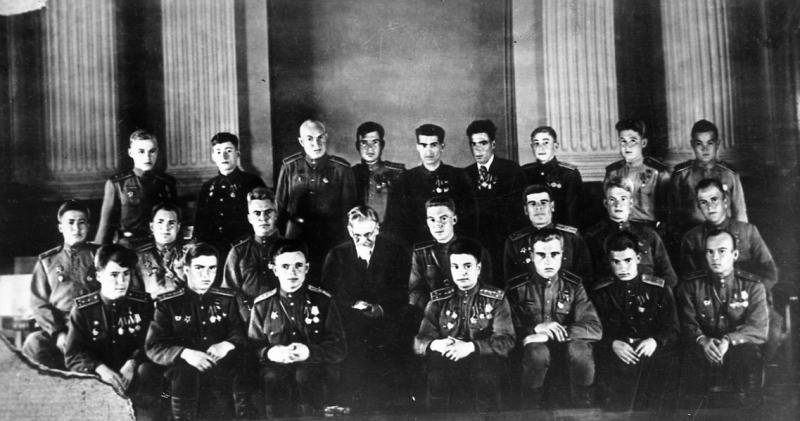 Архивные фотографии для выставки «В борьбе против нацизма мы были вместе!»