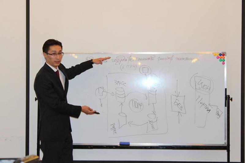 Пресс-сессия по ЕГРН с участием зампредседателя ГРС Дастана  Догоева