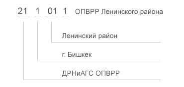 Ss кем выдан паспорт кыргызстан
